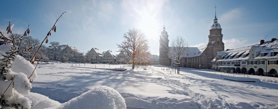 Freudenstadt im Winter