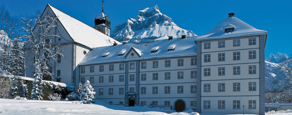Kloster, © Engelberg-Titlis, Foto: Christian Perret