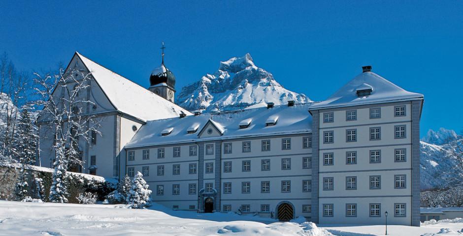 Kloster, © Engelberg-Titlis, Foto: Christian Perret - Engelberg