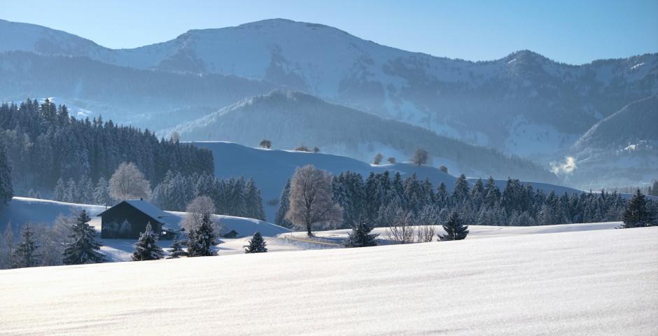 Allgäu im Winter