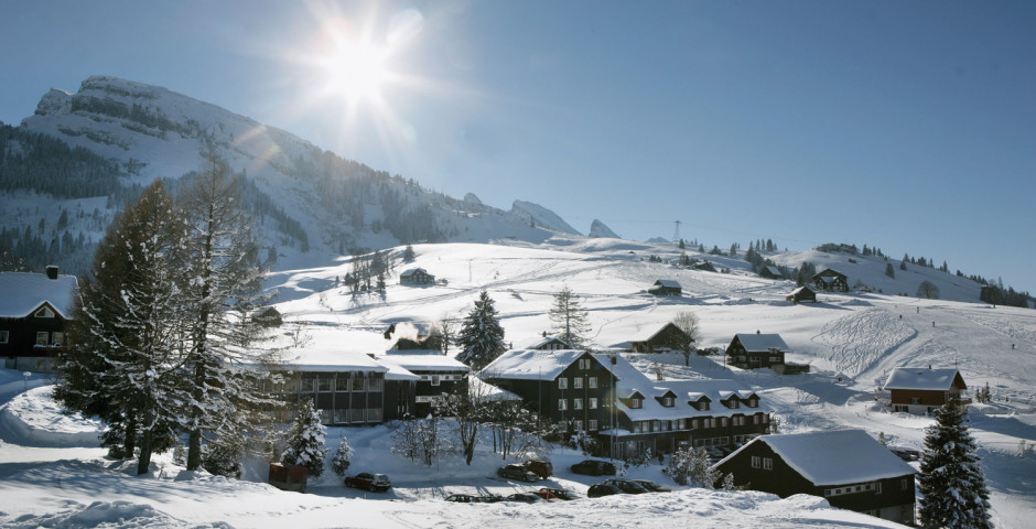 Wildhaus en hiver