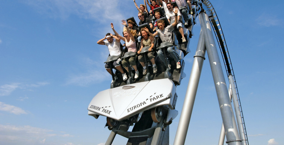 Silver Star Rollercoaster - Europa-Park