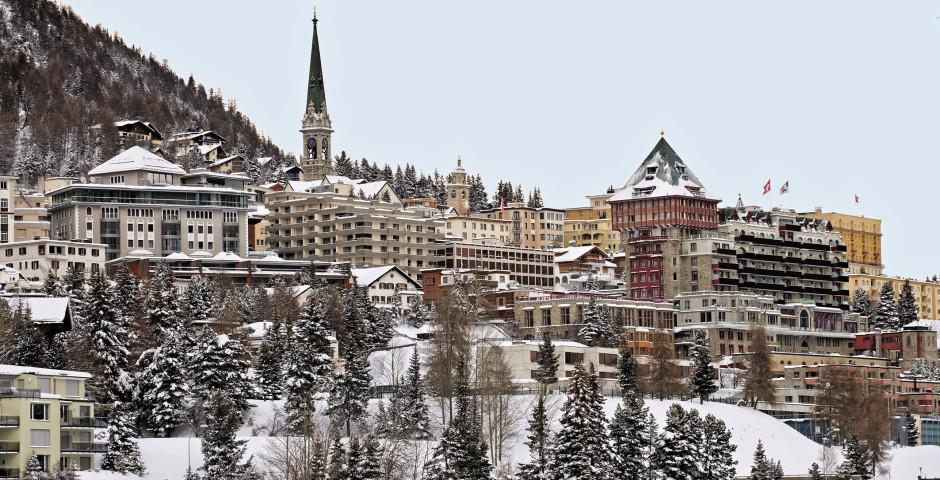 St. Moritz im Winter - St. Moritz
