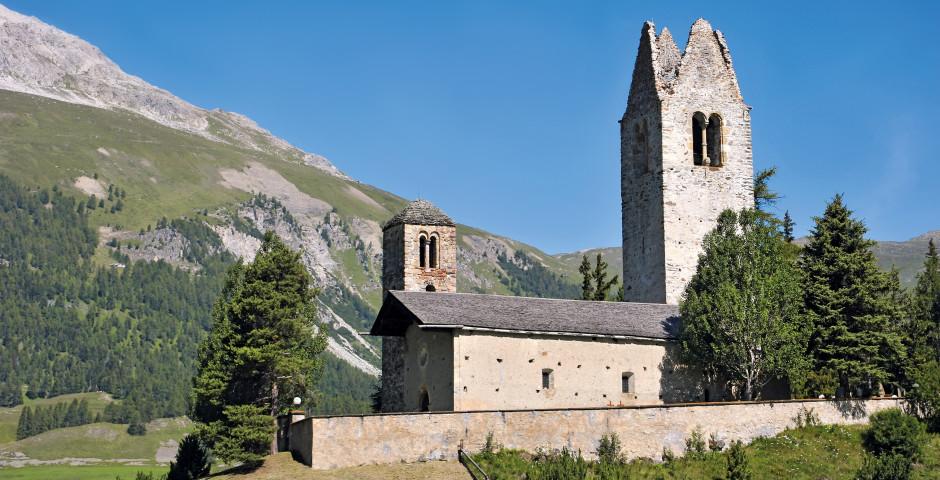 Kirche San Gian - St. Moritz