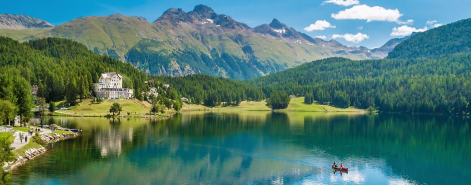 Lac de Saint-Moritz