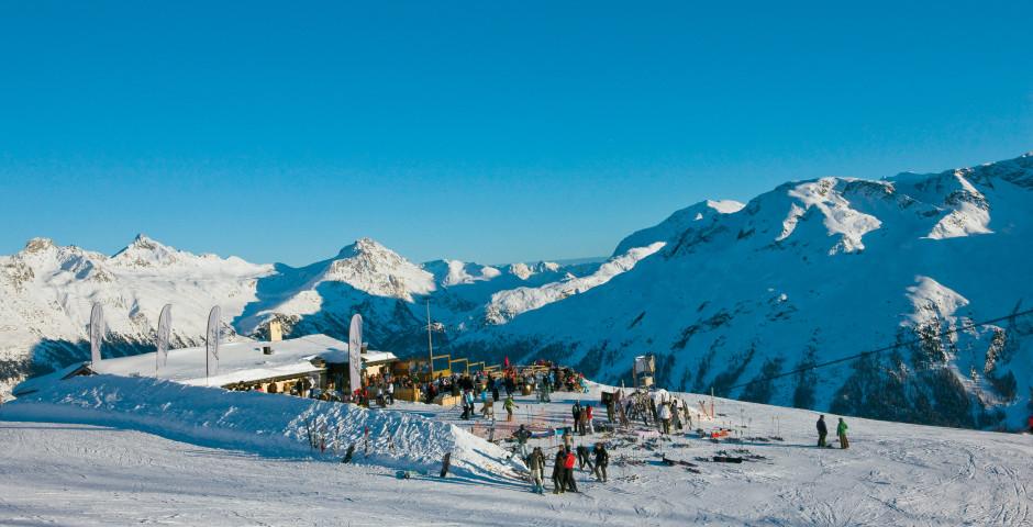 Ski à Saint-Moritz