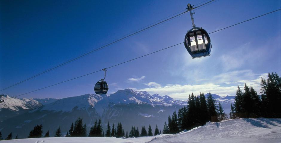 Gondelbahn, Klosters. Copyright: Destination Davos Klosters