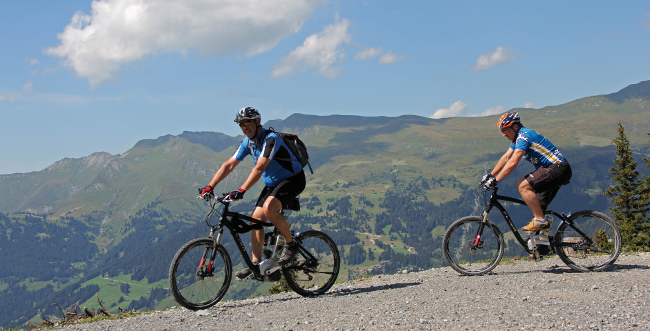 Mountainbiketouren in Gebiet Arosa - Arosa