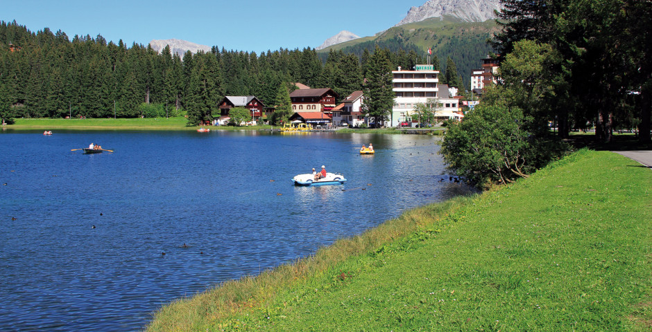 Obersee im Sommer - Arosa