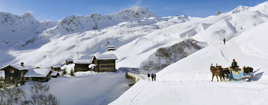 Arosa en hiver