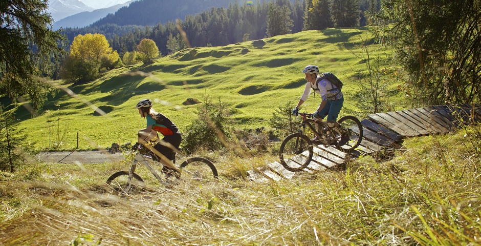 Mountainbiketouren in Laax - Laax