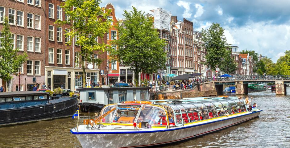 Grachtenfahrt in Amsterdam - Amsterdam