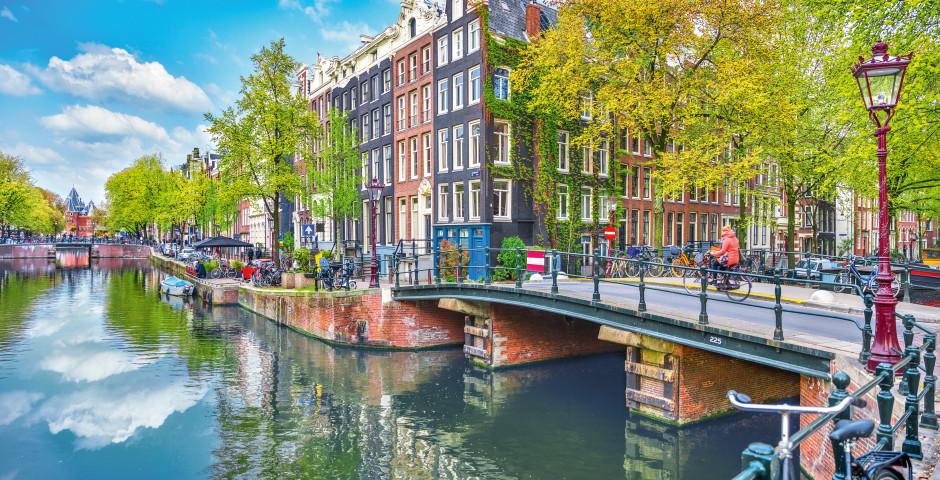 Brücke über die Amstel - Amsterdam