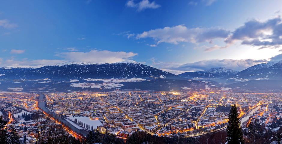 Blick auf Innsbruck - Igls