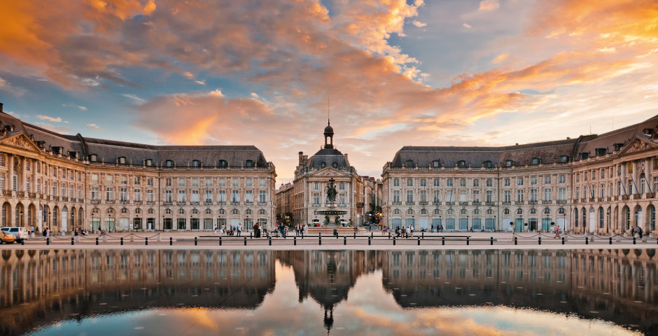 Bordeaux / Place de la Bourse - Bordeaux (Atlantikküste)