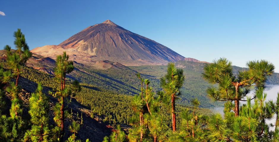 Herrlicher Blick auf den Pico del Teide
