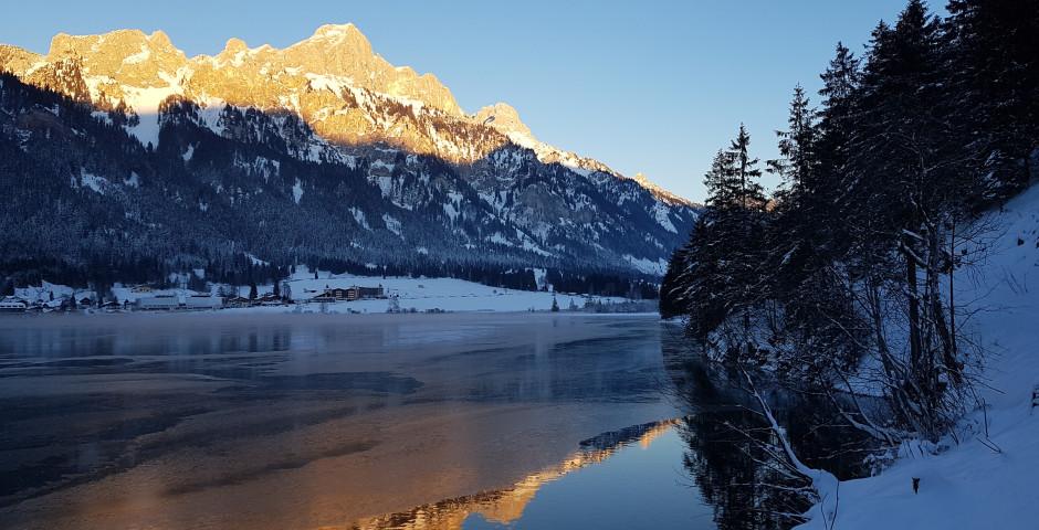 Haldensee im Winter - Grän-Haldensee