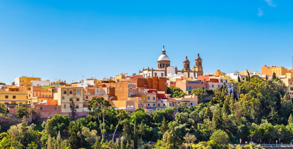 Die schöne Altstadt von Agüimes - Gran Canaria Landesinneres