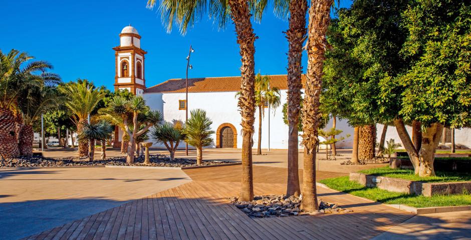 Kirche Nuestra Senora de la Antigua in Antigua - Fuerteventura - Landesinneres