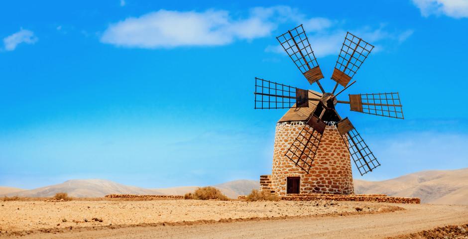 Moulin à vent à Tefia