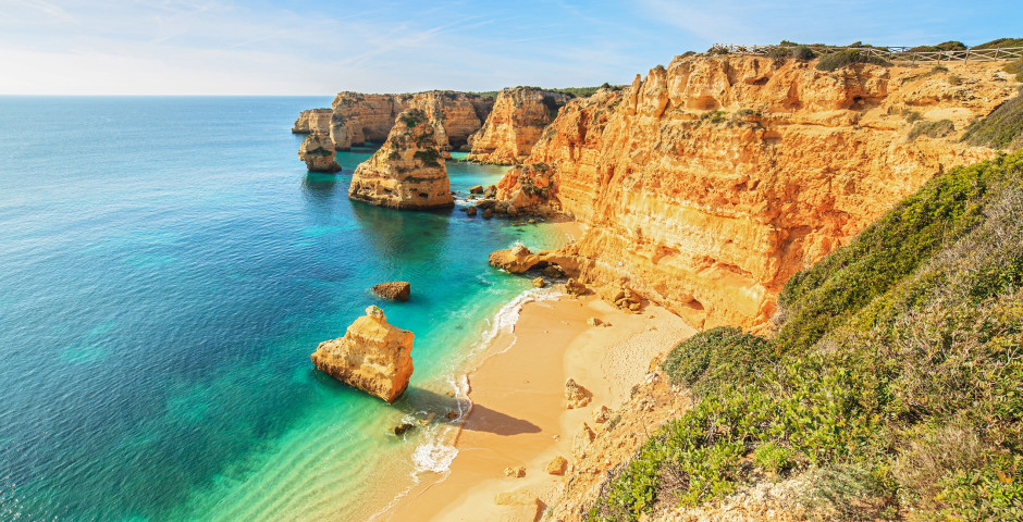 Belle plage Praia da Rocha