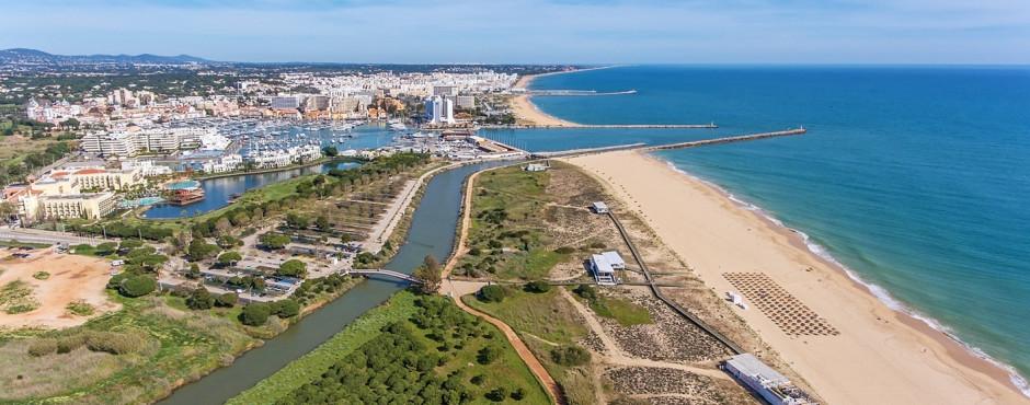 Blick auf Vilamoura
