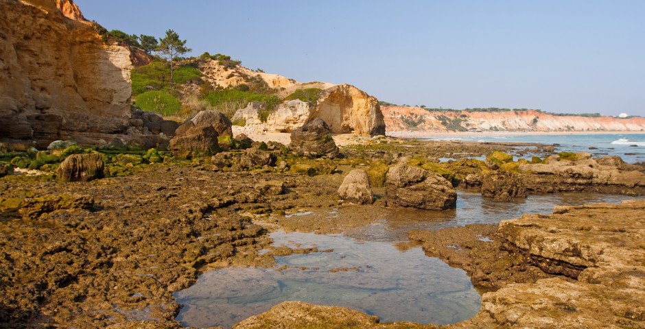 Praia de Falesia bei Vilamoura - Vilamoura