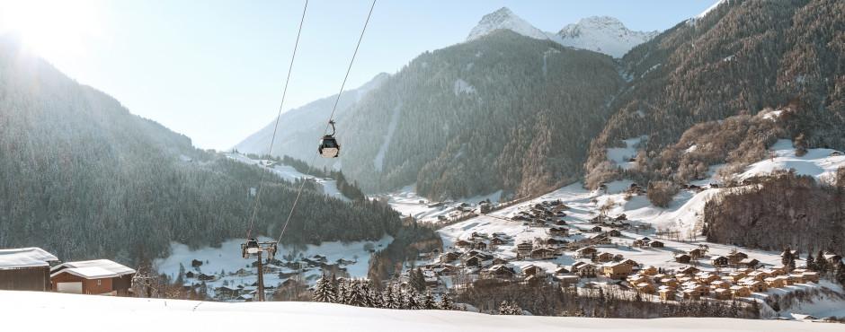 Vue sur St. Gallenkirch