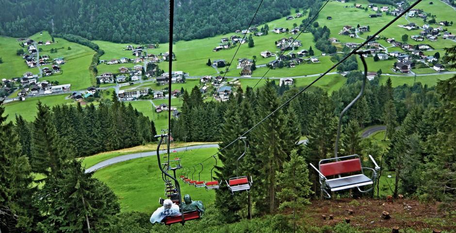 Télésiège de Gradau - St. Gallenkirch