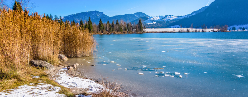 Walchsee im Winter