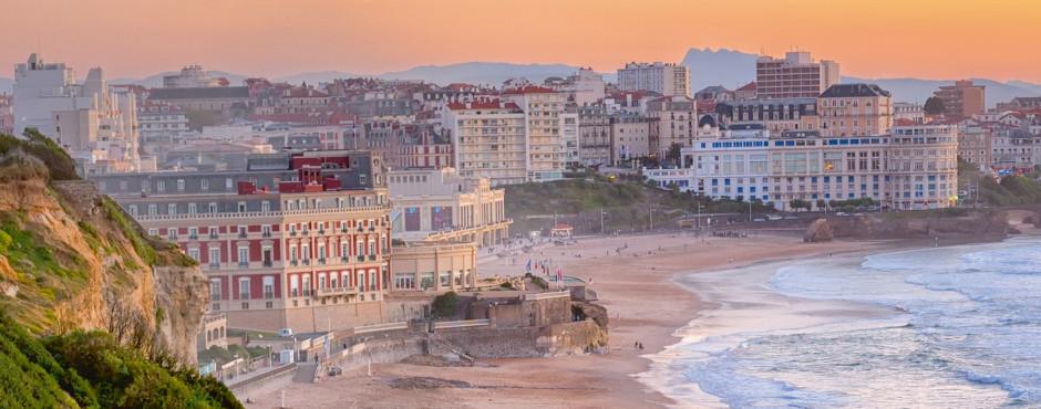 Biarritz, französisches Baskenland, Aquitaine