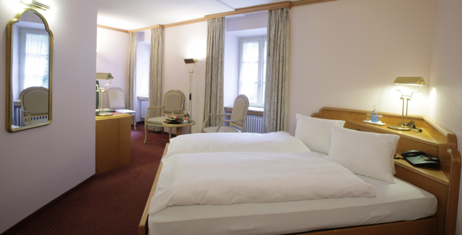 Doppelzimmer - Thermalhotels & Walliser Alpentherme