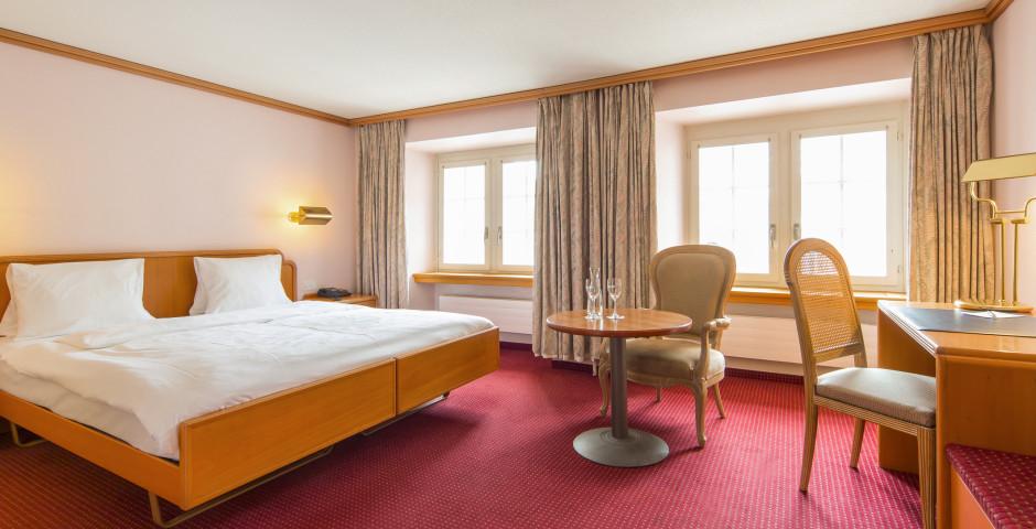 Doppelzimmer Maison Blanche - Thermalhotels & Walliser Alpentherme