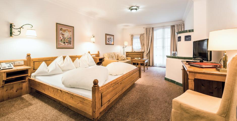 Doppelzimmer Komfort-Superior - Hotel ...liebes Rot-Flüh - Sommer inkl. Bergbahnen
