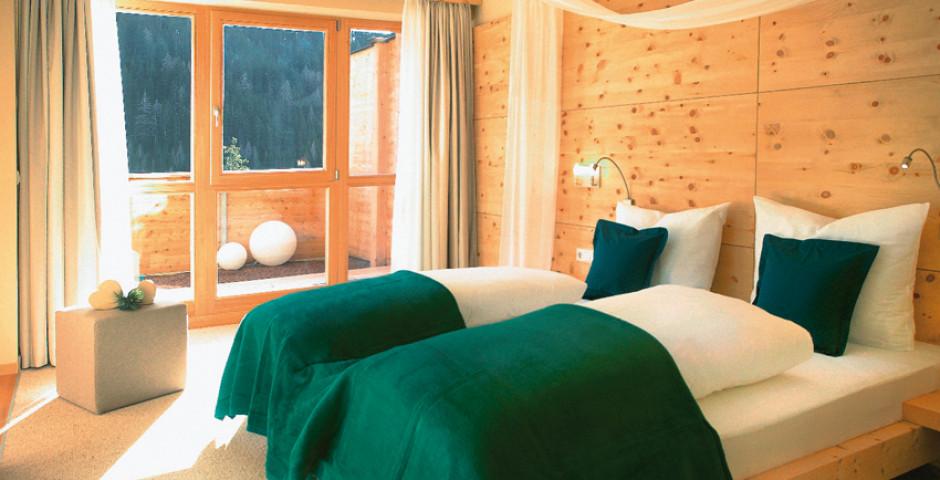 Schlafzimmer, Suite - AROSEA Life Balance Hotel