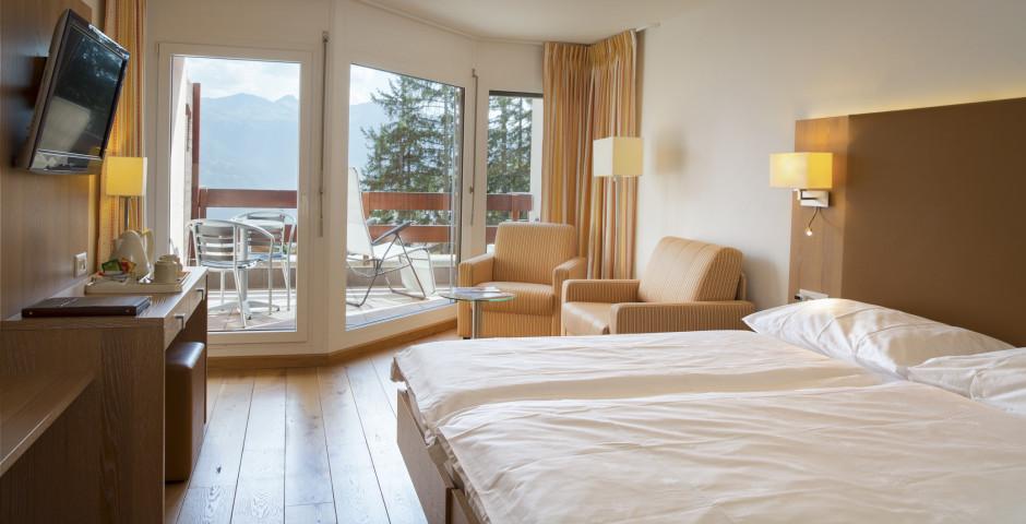 Doppelzimmer Superior - Helvetia Intergolf - Hotel - Sommer inkl. Bergbahnen
