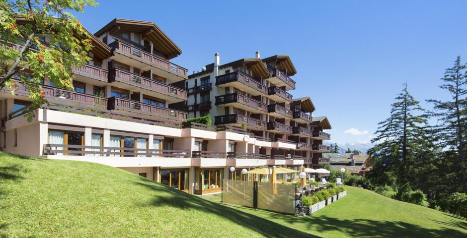 Helvetia Intergolf - hôtel - été, remontées mécaniques incl.