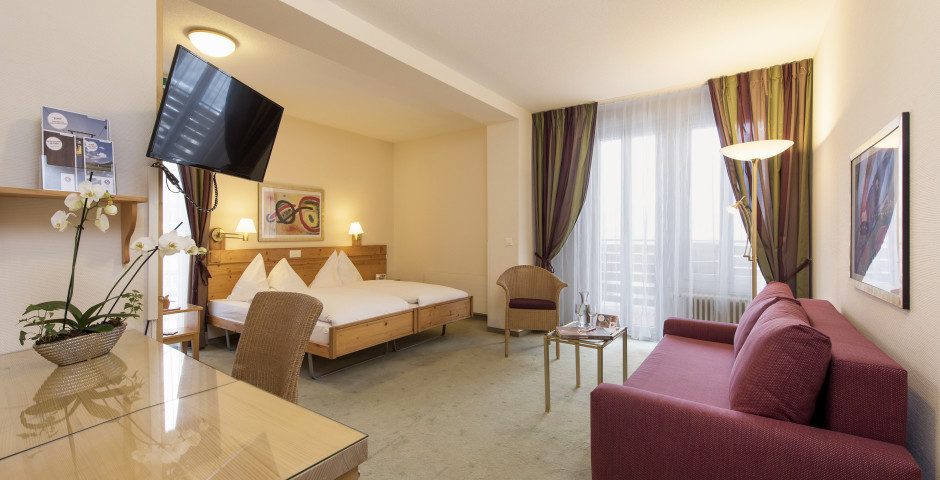 Familienzimmer Tal - Sunstar Hotel Wengen