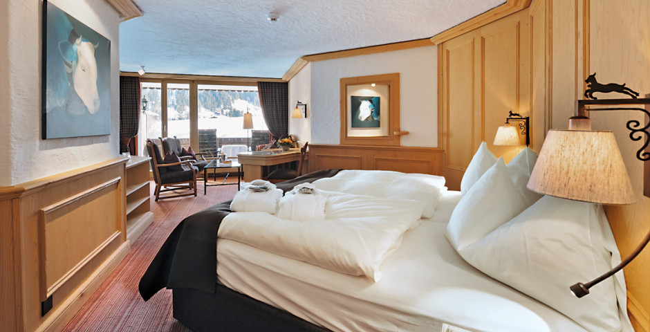 Junior Suite Gstaad - ERMITAGE Wellness- & Spa-Hotel