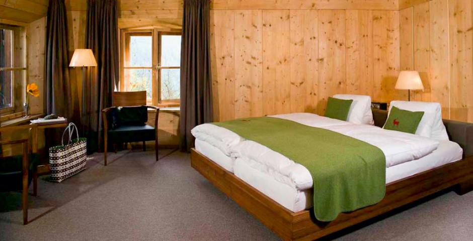 Doppelzimmer Engadin - Romantik und Boutique-Hotel GuardaVal - Sommer inkl. Bergbahnen