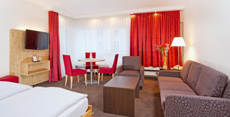 2,5-Zimmer-Appartement - Central Appartements Davos - Sommer inkl. Bergbahnen