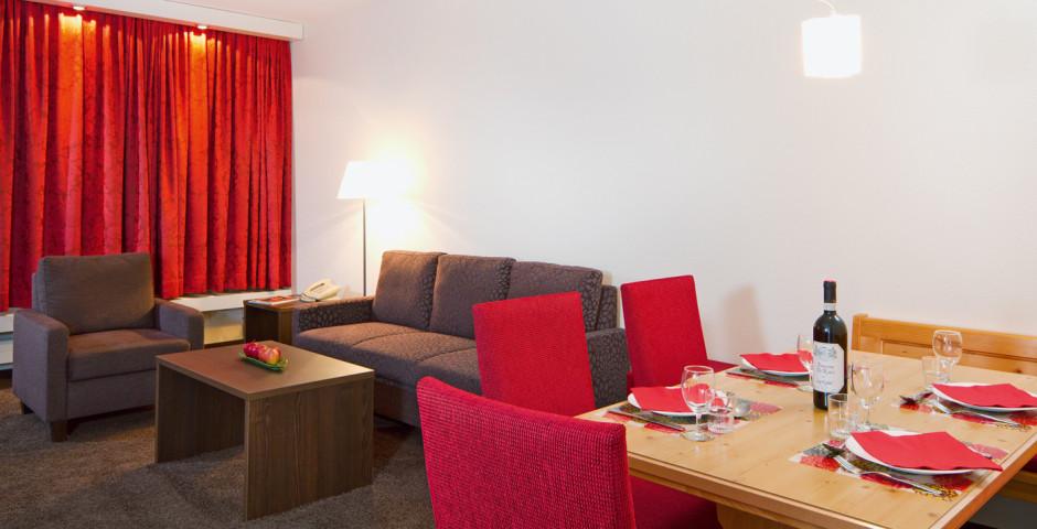 2-Zimmer-Appartement - Central Appartements Davos - Sommer inkl. Bergbahnen
