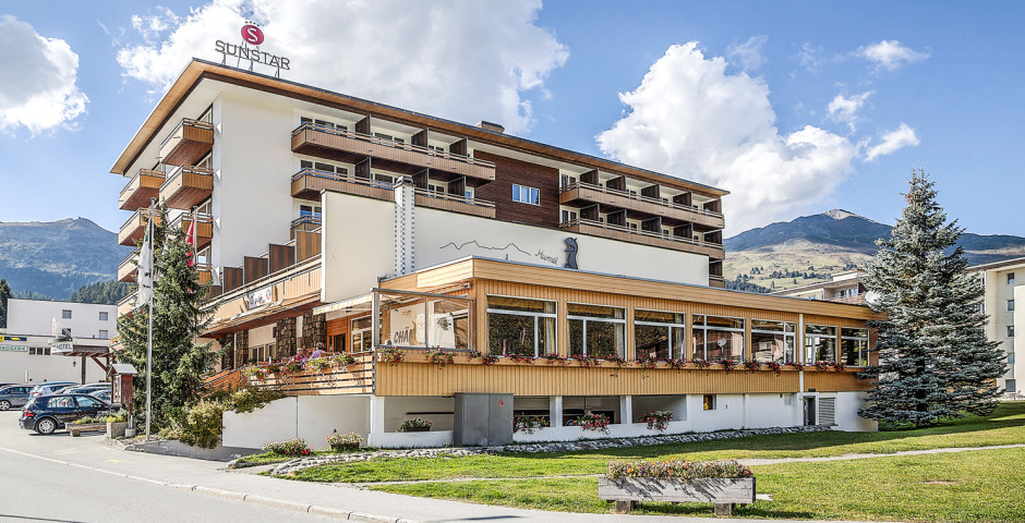 Sunstar Hotel Lenzerheide - Sommer inkl. Bergbahnen*