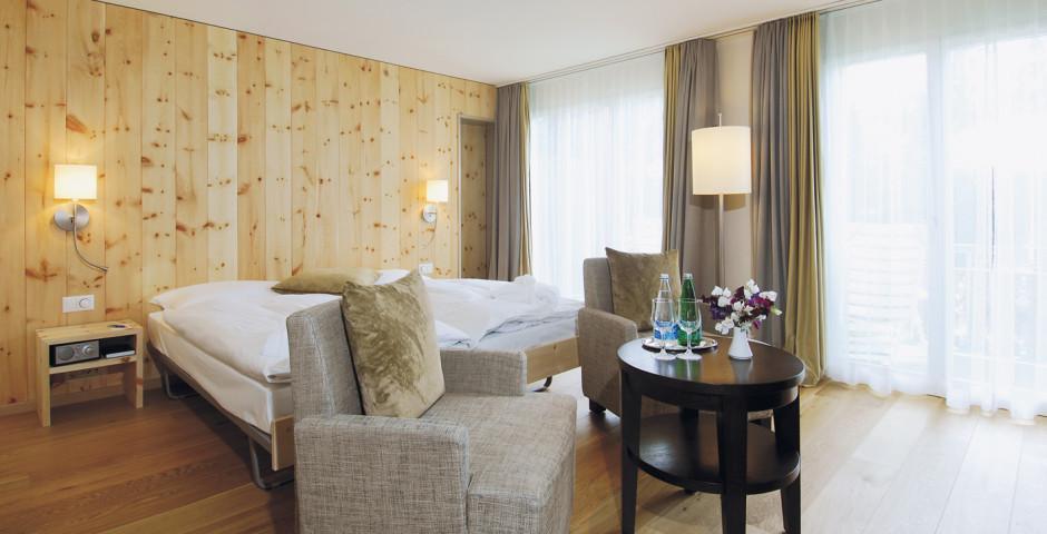 Doppelzimmer Deluxe - Wellness- & Wohlfühlhotel Adula