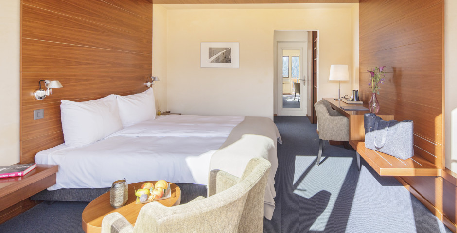 © Weisse Arena Gruppe / Chambre double - signinahotel Laax