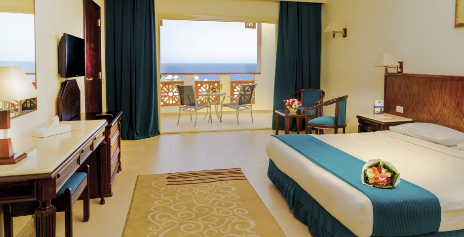 Doppelzimmer Deluxe Meersicht - Serenity Makadi Beach