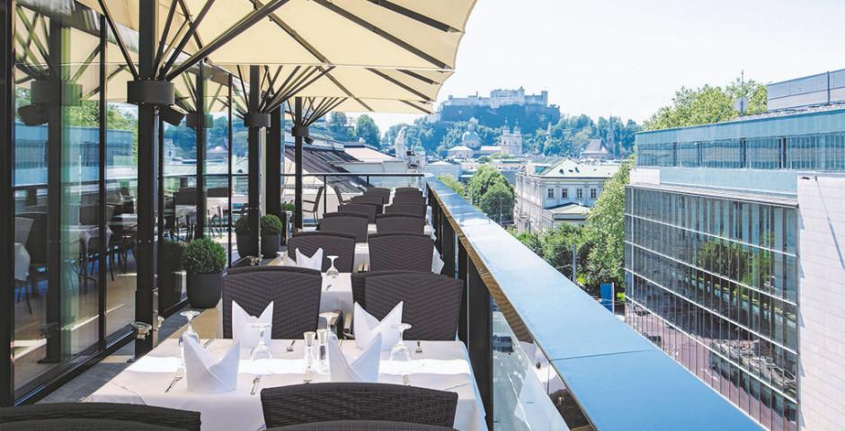 IMLAUER SKY Terrasse - Imlauer Hotel Pitter