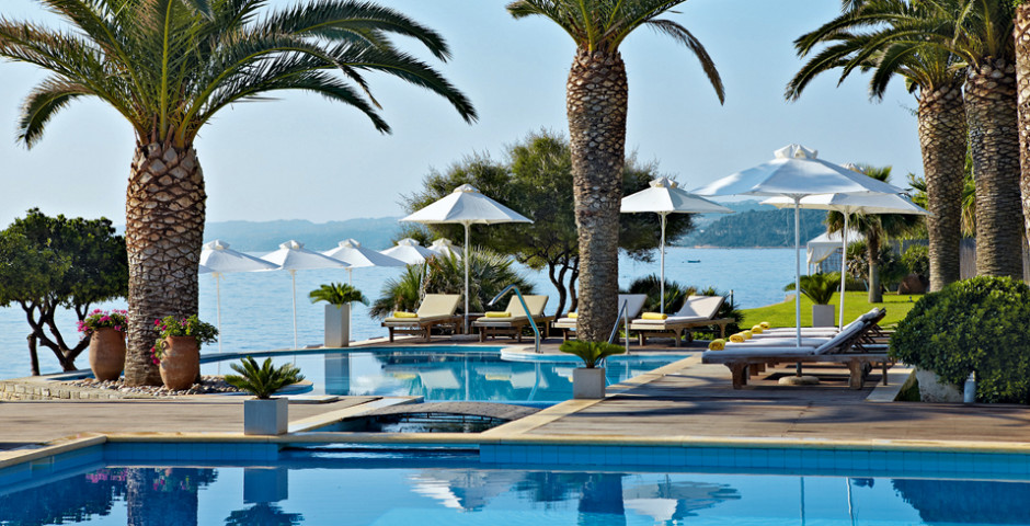 Afitis boutique hotel chalkidiki thessaloniki hotelplan for Boutique hotel am strand