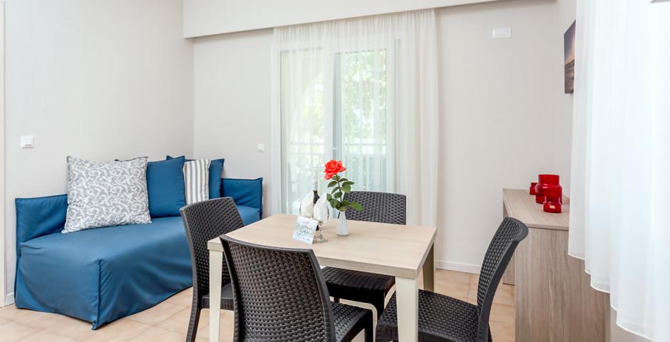 Appartement mit 2 Schlafzimmern - Acharavi Beach Hotel