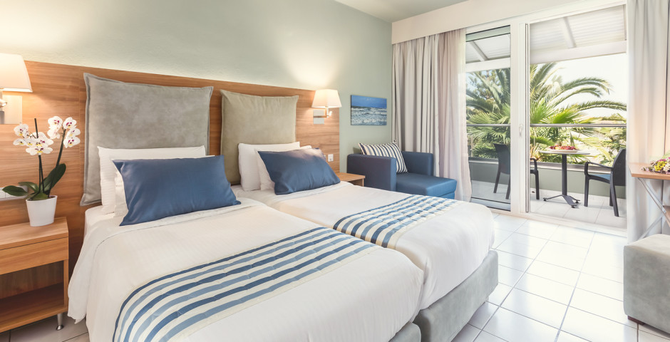 Doppelzimmer Superior Gartensicht - Acharavi Beach Hotel
